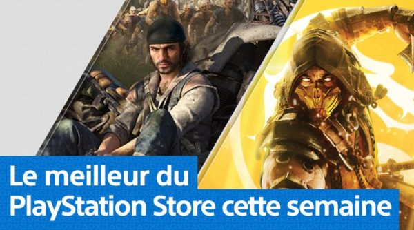 Days Gone et Mortal Kombat 11 arrivent sur le Playstation Store