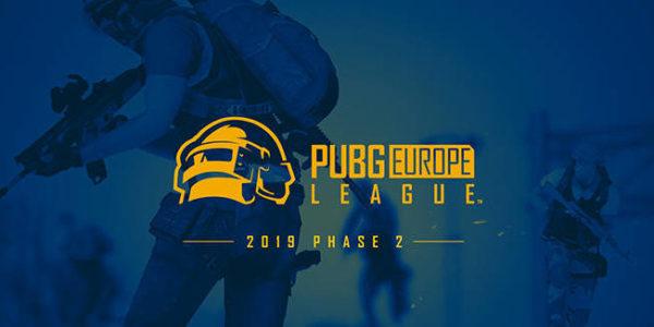 PUBG Europe League – La Phase 2 débute