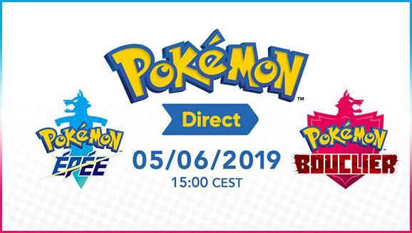 Pokémon Direct Pokémon Épée et Pokémon Bouclier