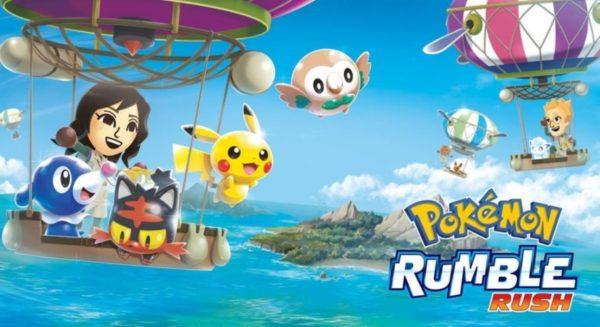 Pokémon Rumble Rush arrive sur Android et iOS