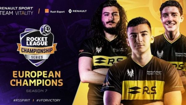 Rocket League Series Renault Sport team Vitality