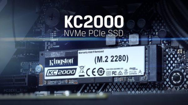 SSD KC2000