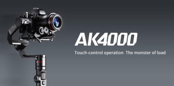 FeiyuTech présente sa gamme de stabilisateurs professionnels AK