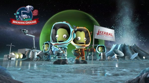 Kerbal Space Program Breaking Ground