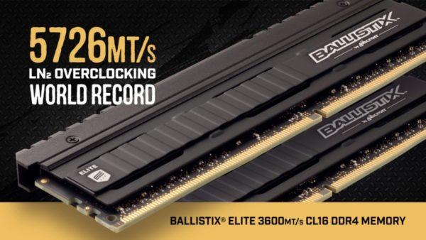 Ballistix Elite DDR4 3600MT
