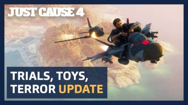 Just Cause 4 – La mise à jour Trials, Toys & Terror arrive