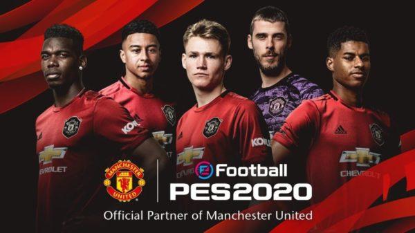 eFootball PES 2020 - Konami x Manchester United