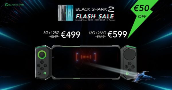 Black Shark 2 Vente Flash