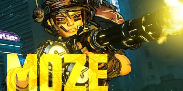 Borderlands 3 Moze l'Artilleuse
