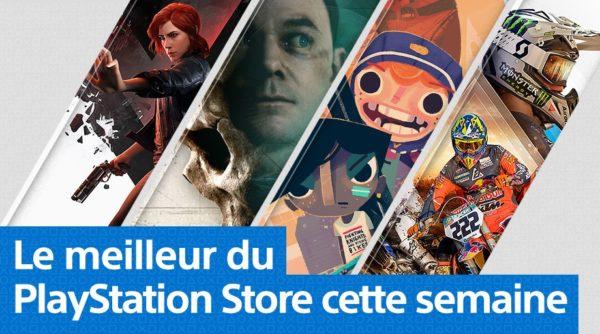 PS Store Playstation Store - Mise à jour du 27 août 2019