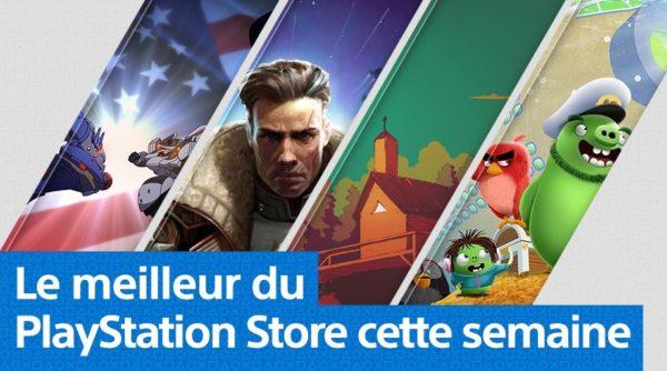 PS Store Playstation Store - Mise à jour du 5 août 2019