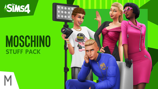 Les Sims 4 Objets Moschino Moschino Maxis