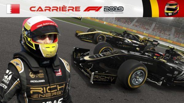 F1 2019 - Carrière #03 : Premières améliorations de R&D