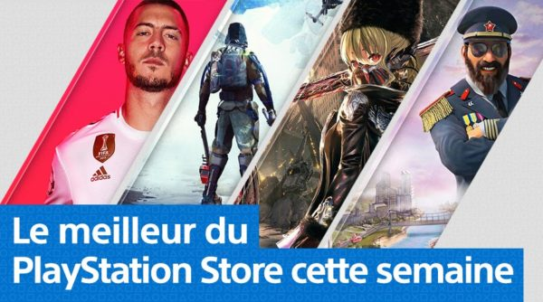 PlayStation Store PS Store - Mise à jour du 23 septembre 2019