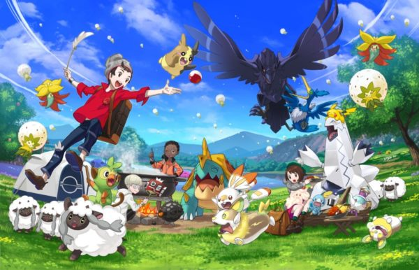Pokémon Épée et Pokémon Bouclier – Découvrez le Poké Camping