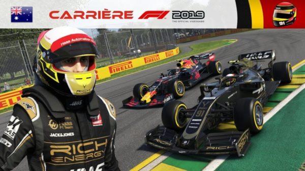 F1 2019 – Carrière #02 : Première impression chez Haas