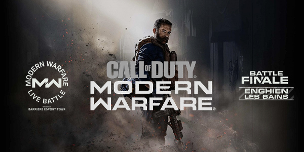 Call of Duty: Modern Warfare Activision x Le Barrière Esport Tour