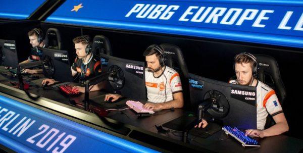 Samsung C27RG50 x Ligue européenne de PUBG 2019
