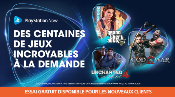 PS Now Playstation Now 1er Octobre