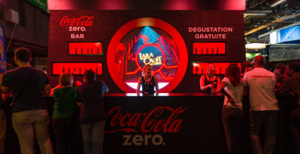 Paris Games Week x Coca-Cola