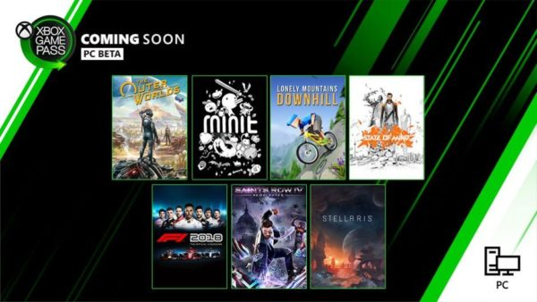 Xbox Game Pass - Octobre
