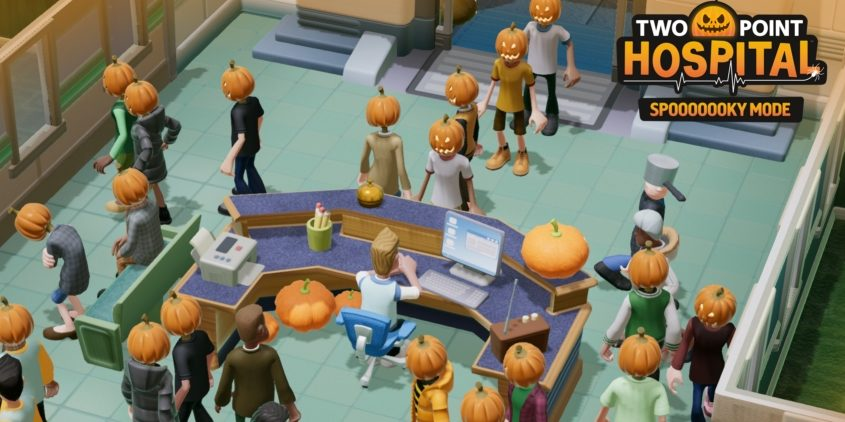 Two Point Hospital Mode Eeeeeffrayant