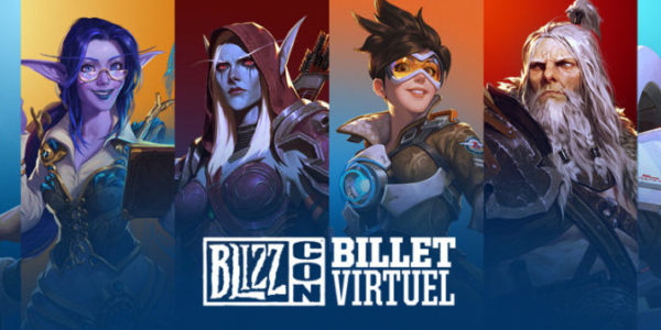 BlizzCon 2019 billet virtuel