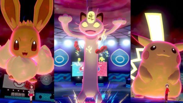 Pokémon Épée et Bouclier Pokémon Gigamax Octobre