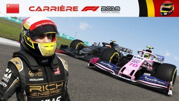 F1 2019 - Carrière #04 : La GROSSE opposition de Weber