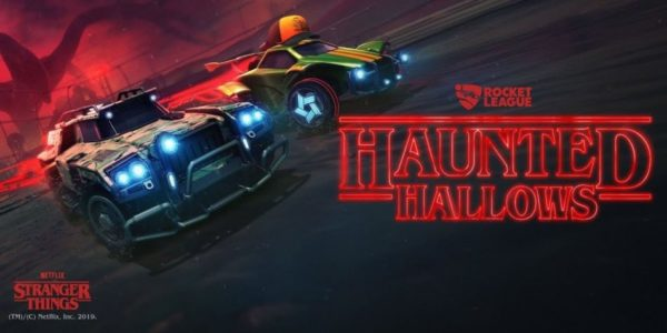 Rocket League x Stranger Things : Hunted Hallows