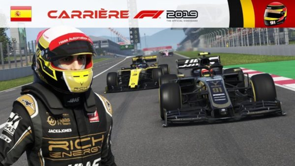 F1 2019 – Carrière #06 : Duel face à Ricciardo