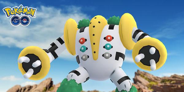 Pokémon Go - Regirock, Regice et Registeel