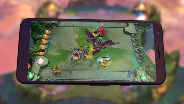 Combat tactique TFT team fight tactics mobile android ios
