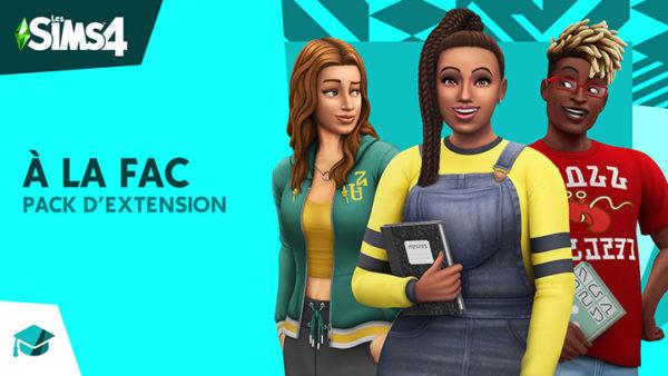Les Sims 4 - À la fac