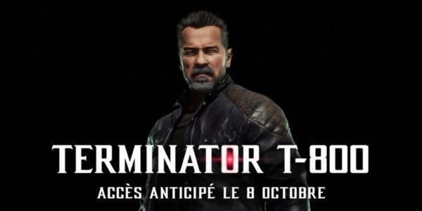Mortal Kombat 11 x Terminator T-800