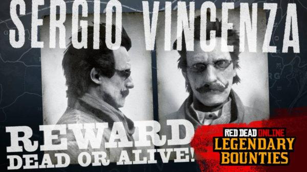 Red Dead Online - Sergio Vincenza