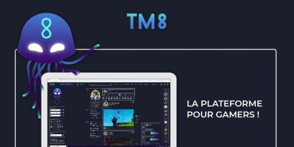 TM8, le réseau social gratuit 100% dédié aux joueurs