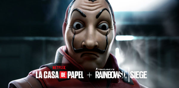 Tom Clancy's Rainbow Six Siege x Netflix : La Casa de Papel