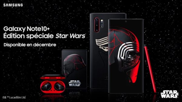 Galaxy Note10+ Edition Spéciale Star Wars