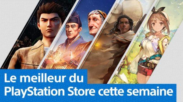 PS Store Playstation Store - Mise à jour du 18 novembre 2019