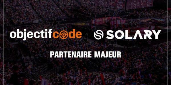 ObjectifCode devient le partenaire majeur de Solary