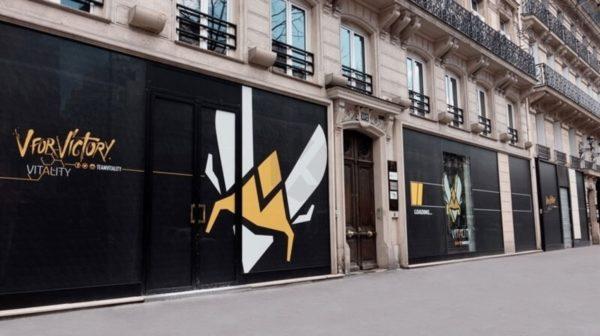 Team Vitality dévoile sa nouvelle adresse parisienne, V.Hive