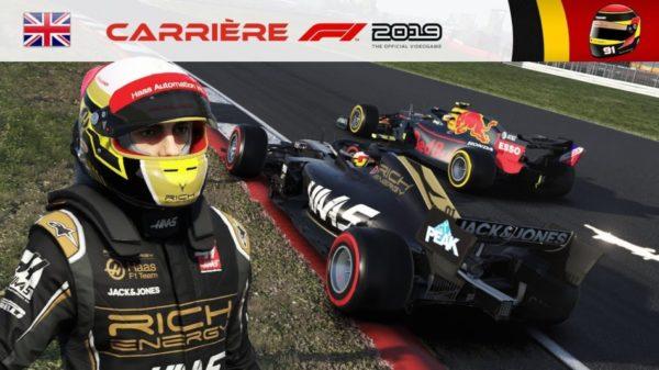 F1 2019 - Carrière #11 : Un overcut parfait face à Gasly ?