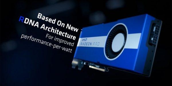 AMD Radeon Pro W5700 - AMD Radeon Pro W5500