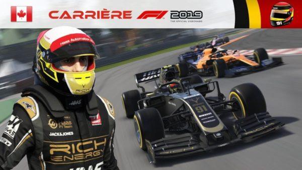 F1 2019 – Carrière #08 : Ma Haas en lambeaux …