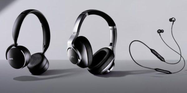 AKG renforce sa gamme de casques et d'écouteurs