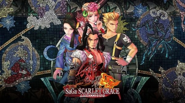 SaGa Scarlet Grace: Ambitions est disponible