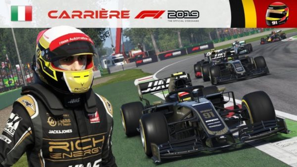F1 2019 - Carrière #15 : Ça chauffe avec Weber !