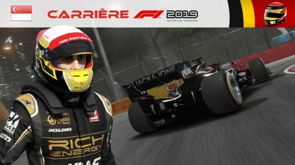 F1 2019 - Carrière #16 : Mauvais calcul...