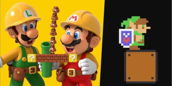 Super Mario Maker 2 x Link The Legend of Zelda